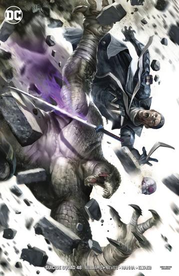 DC Suicide Squad #48 Comic Book [Francesco Mattina Variant Cover]