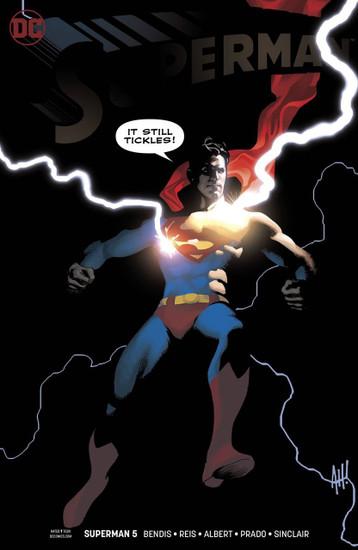 DC Superman #5 Comic Book [Adam Hughes Variant Cover]