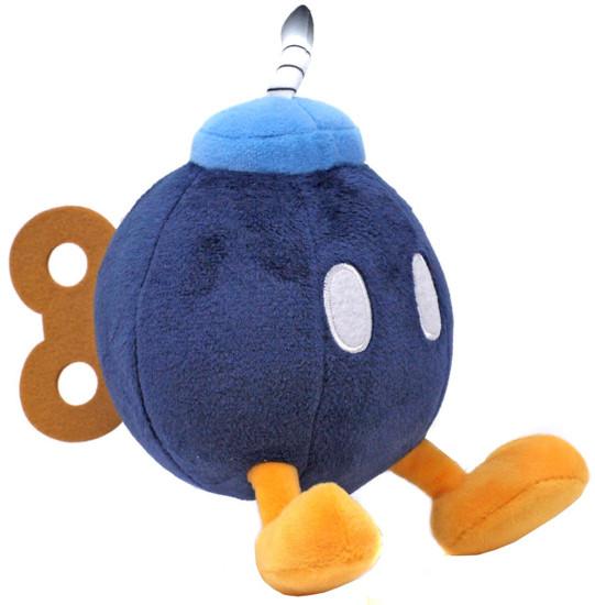 Super Mario All Star Collection Bob-Omb 6-Inch Plush