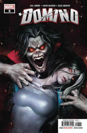 Marvel Comics Domino #8 Comic Book