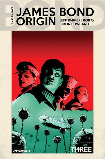 Dynamite Entertainment James Bond Origin #3 Comic Book