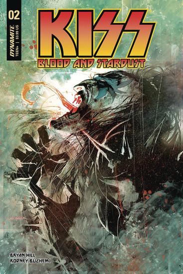 Dynamite Entertainment Kiss Blood Stardust #2 Comic Book