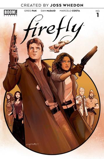 Boom Studios Firefly #1 Comic Book