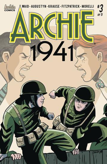 Archie Comic Publications Archie 1941 #3 Comic Book [Derek Charm Cover B Variant]