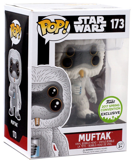 Funko A New Hope POP! Star Wars Muftak Exclusive Vinyl Bobble Head #173