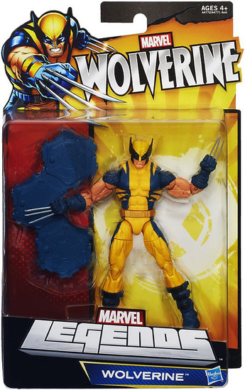 Marvel Legends Puck Series Wolverine Exclusive Action Figure