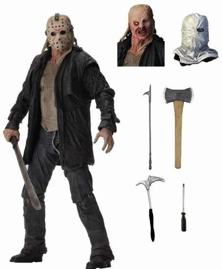 NECA Friday the 13th Jason Voorhees Action Figure [Ultimate Version, 2009]