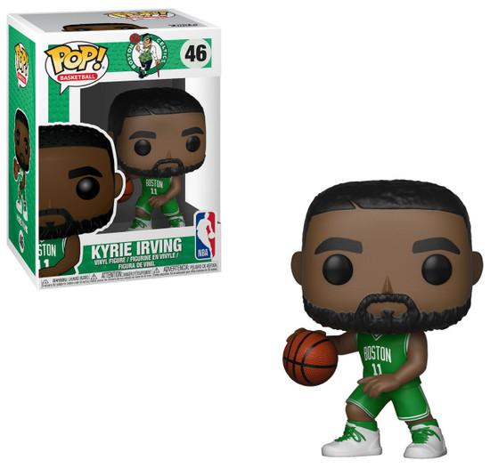 Funko NBA Boston Celtics POP! Sports Basketball Kyrie Irving Vinyl Figure #46 [Green Uniform]