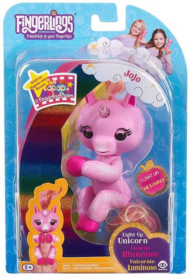 Fingerlings Baby Unicorn JoJo Exclusive Figure [Light-Up]