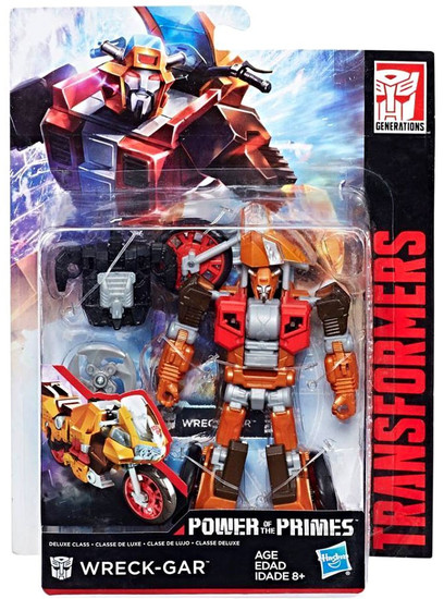 Transformers Generations Power of the Primes Wreck-Gar Exclusive Deluxe Action Figure