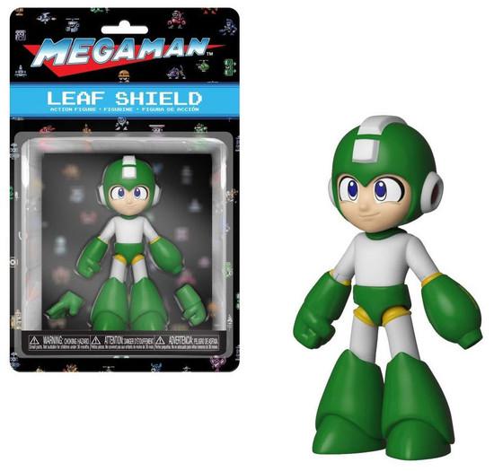 Funko Mega Man Action Figure [Leaf Shield, Regular Version]