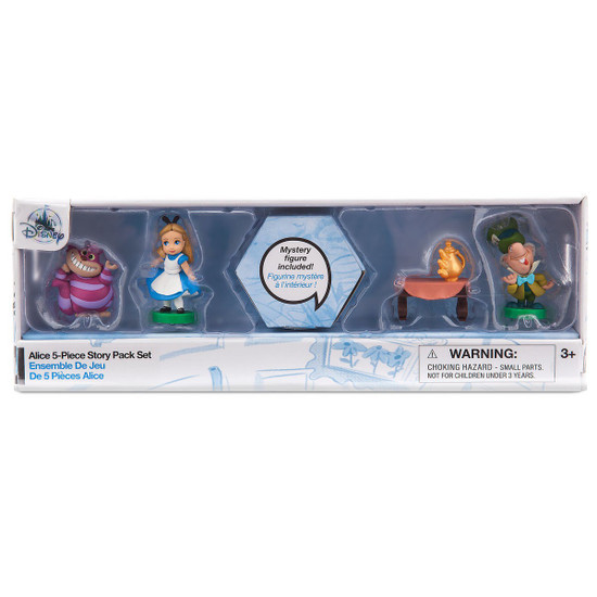 Disney Littles Animators' Collection Alice Story Pack 5-Piece Set