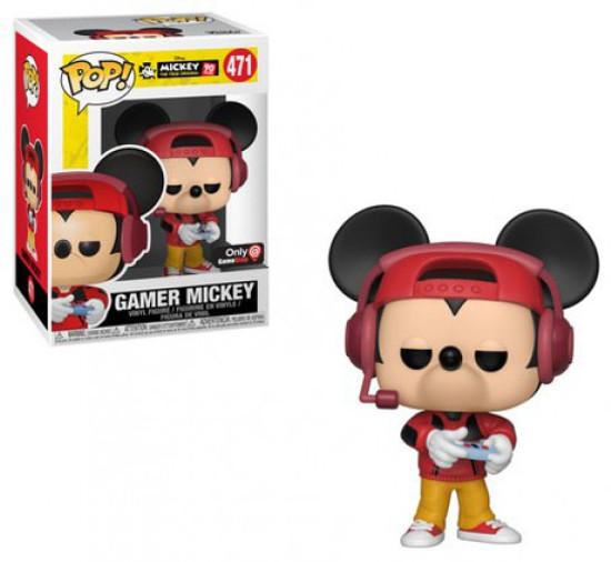 Funko POP! Disney Gamer Mickey Exclusive Vinyl Figure #471