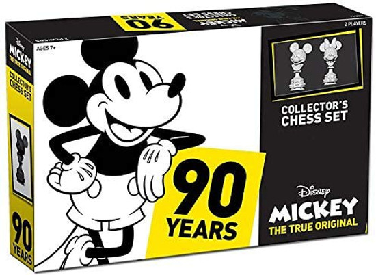 Mickey Mouse Mickey The True Original 90 Years Of Magic Chess Set