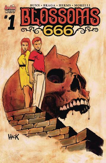 Archie Comic Publications Blossoms 666 #1 Comic Book [Robet Hack Cover D]
