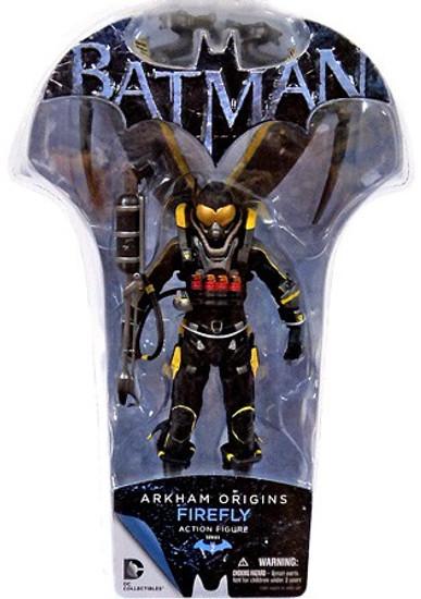 Batman Arkham Origins Series 2 Firefly Action Figure
