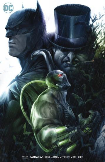 DC Batman #60 Comic Book [Francesco Mattina Variant Cover]