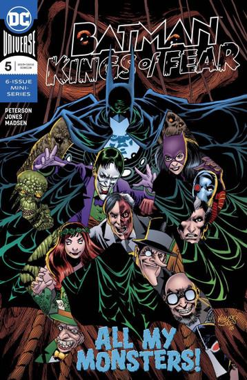DC Batman Kings of Fear #5 of 6 Comic Book