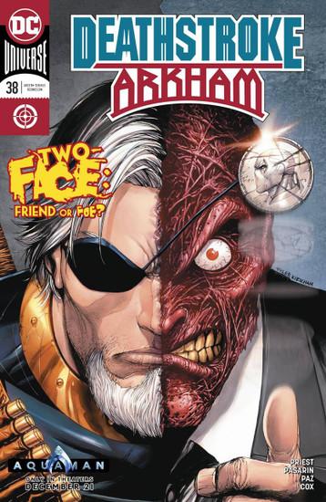 DC Deathstroke #38 Arkham Comic Book