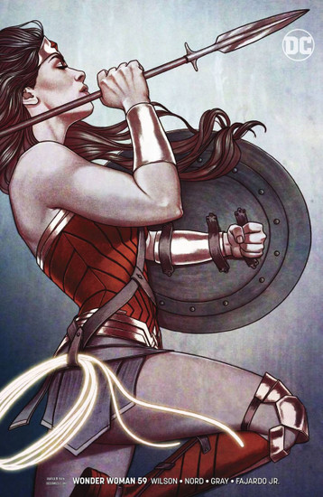 DC Wonder Woman #59 Comic Book [Jenny Frison Variant Cover]