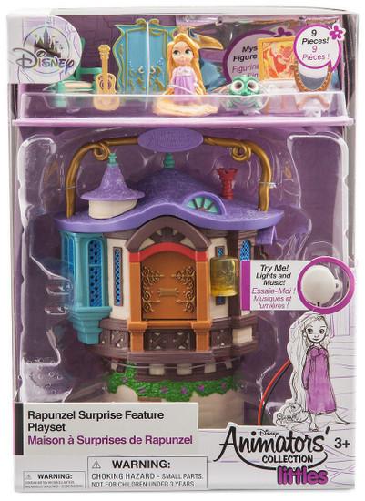Disney Tangled Littles Animators' Collection Rapunzel Surprise Feature Exclusive Micro Playset [2018]