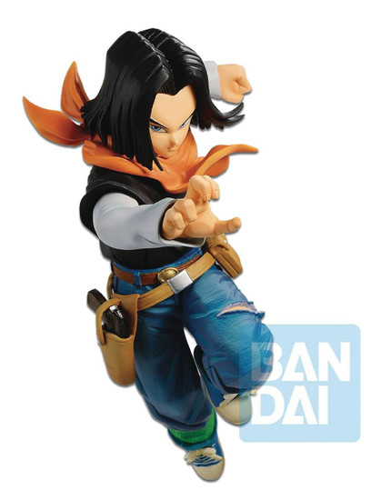 Dragon Ball FighterZ Android 17 Collectible PVC Figure