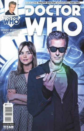 Titan Comics Doctor Who: The Twelfth Doctor Adventures Year Two #01 Comic Book [Will Brroks Cover B]