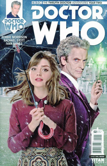 Titan Comics Doctor Who: The Twelfth Doctor Adventures Year Two #02 Comic Book [Will Brooks Cover B]