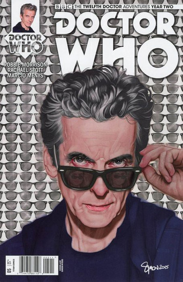 Titan Comics Doctor Who: The Twelfth Doctor Adventures Year Two #05 Comic Book