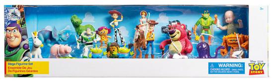 Disney Toy Story Exclusive 20-Piece PVC Mega Figurine Playset