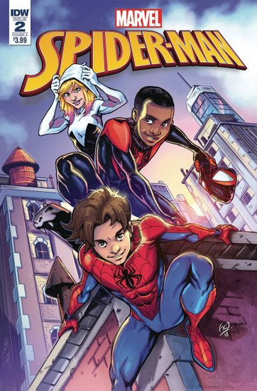 IDW Spider-Man #2 Comic Book