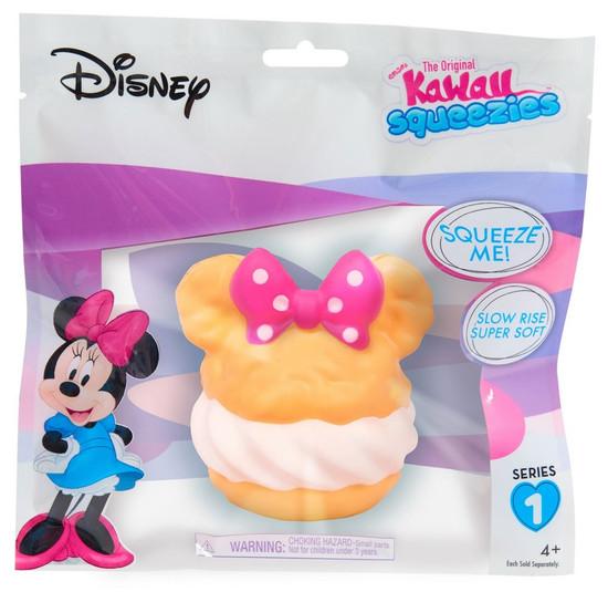 Disney The Original Kawaii Squeezies Series 1 Minnie Ice Cream Sandwich Squeeze Toy