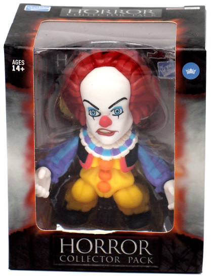 Horror IT Movie (1990) Pennywise Vinyl Figure [Color]