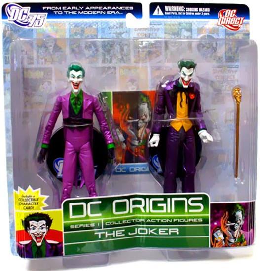 Origins Joker Action Figure 2-Pack