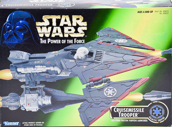 Star Wars Galactic Empire The Power of the Force Cruisemissile Trooper Vehicle
