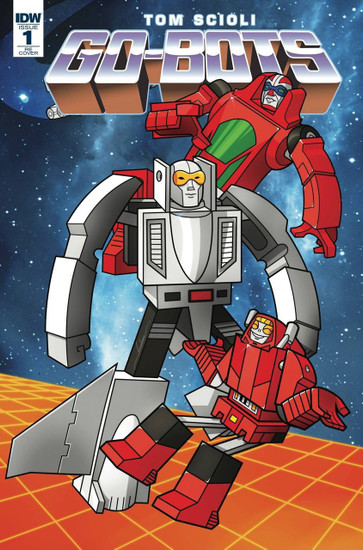 IDW Go-Bots #1 Comic Book [LCSD Cover]