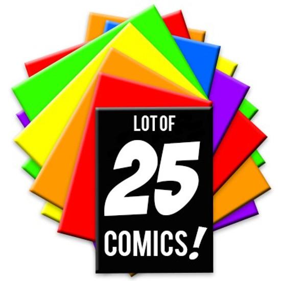ToyWiz Lot of 25 Random Comic Books