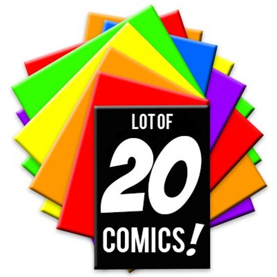 ToyWiz Black Friday Lot of 20 Random Comic Books