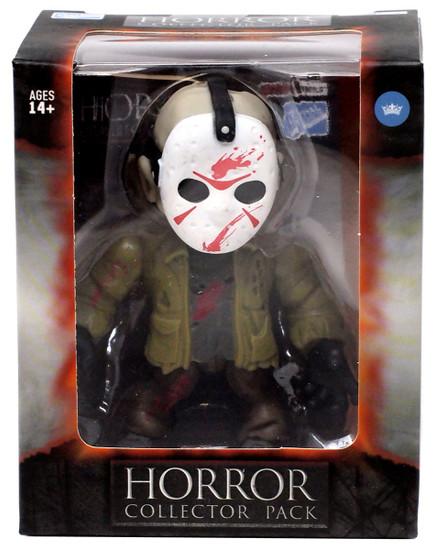 Horror Friday the 13th Jason Voorhees Vinyl Figure [Green Jacket, Bloody]