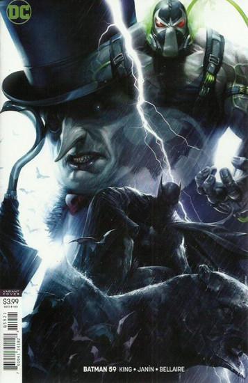DC Batman #59 Comic Book [Francesco Mattina Variant Cover]
