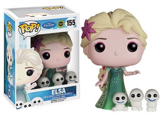 Funko Disney Frozen Frozen Fever POP! Movies Elsa Vinyl Figure #155 [Frozen Fever, Damaged Package]
