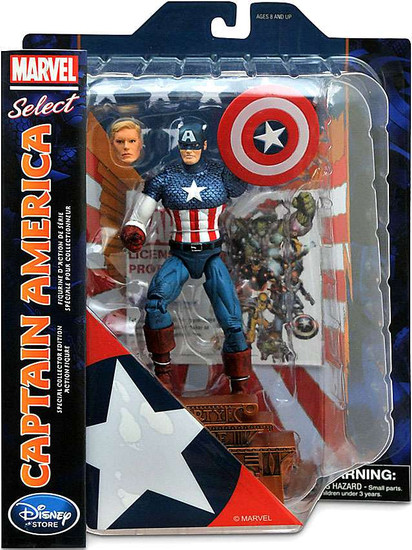 Marvel Select Captain America Exclusive Action Figure [2015]