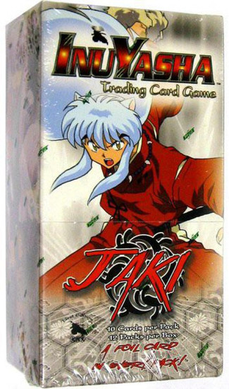 InuYasha Trading Card Game Jaki Booster Box [12 Packs]