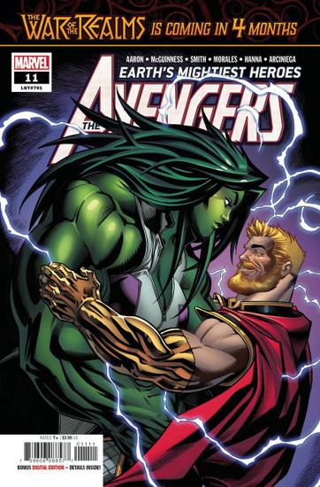 Marvel Comics Avengers #11 Comic Book