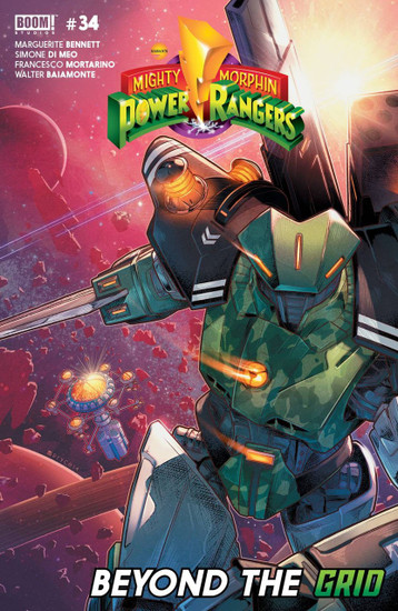 Boom Studios Mighty Morphin Power Rangers #34 Beyond The Grid Comic Book
