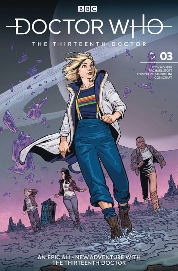 Titan Comics Doctor Who The Thirteenth Doctor #3 Comic Book