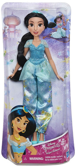 Disney Princess Aladdin Royal Shimmer Jasmine 11-Inch Doll [2018, Damaged Package]