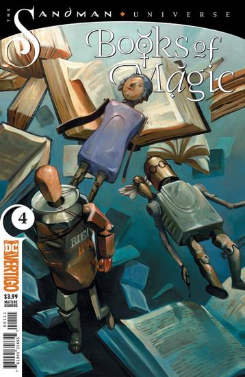 DC Books of Magic #4 The Sandman Universe Comic Book