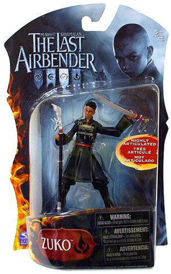Avatar the Last Airbender Zuko Action Figure [Sword & Staff, Damaged Package]