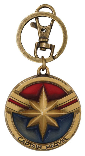 Captain Marvel Keychain